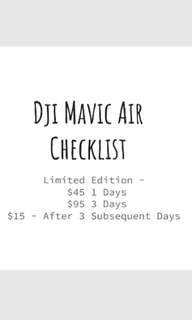 ⭐CHEAPEST RENTAL OF MAVIC AIR⭐