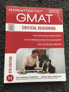 Manhattan Prep Critical Reasoning guide