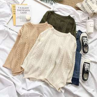 Belle Knitted Pullover