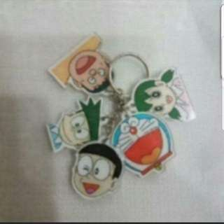 In Stock Doraemon And Friends Design Key Chain