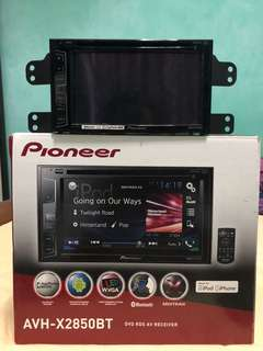 Pioneer Car Audio AVH-X2850BT