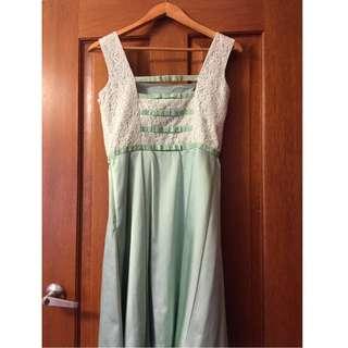 Review Dress Summer Kokomo Size 10 Pastel Green Mint Wedding Formal Prom Party Size 10