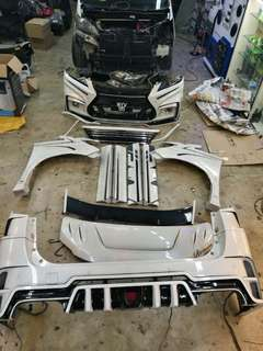 vellfire ROWEN body kit 8/10