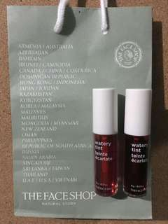 Authentic The Face Shop Watery Liptint