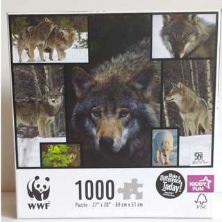 WWF 1000 puzzle 69 by 51 cm