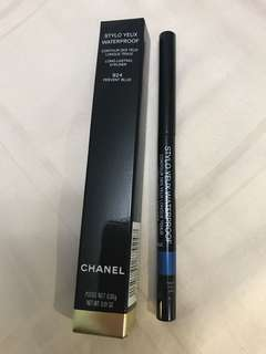 Chanel Stylo Yeux Waterproof Long Lasting Eyeliner 924 Fervent Blue