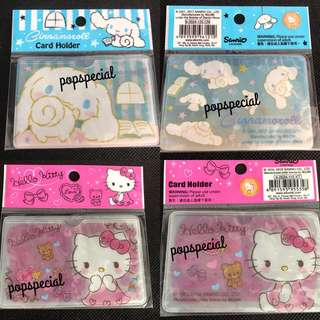 Last PCS Each Hello Kitty Cinnamoroll Ez Link Card Holder