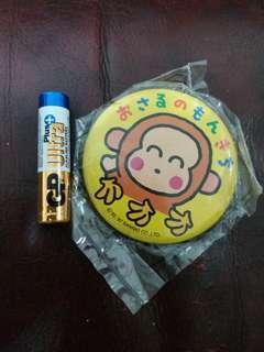 Monkichi 馬騮仔日本絕版襟章