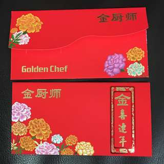 Golden Chef Red Packet Angpow