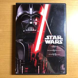 [Original & Genuine] Star Wars 4, 5 & 6 DVD