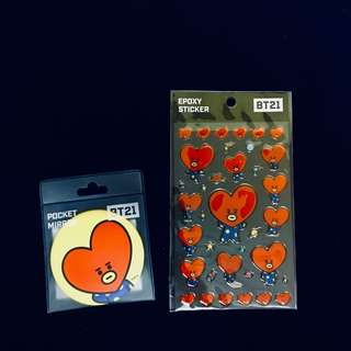 ready stock: Tata set BT21 X MONOPLY