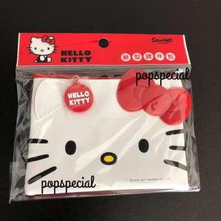 Last SET Left Hello Kitty Wallet Zip Pouch