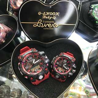 G Shock Couple Watch