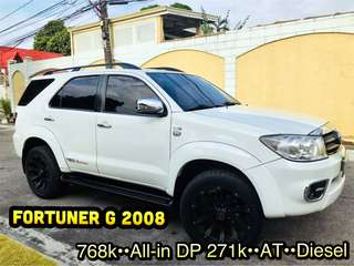 Fortuner G 2008 Automatic Diesel