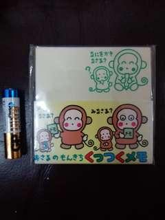 Monkichi 馬騮仔日本絕版 1993年 Label Memo