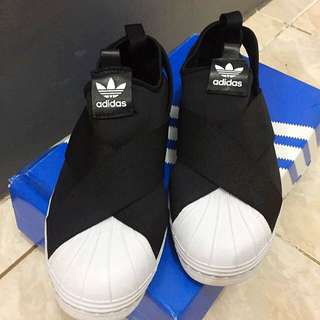 Adidas Superstar Slip On Black Original