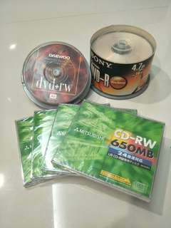 Rewritable CD/ DVD