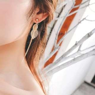 Korea Leaves Earring