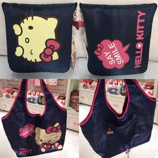 Last SET Left Hello Kitty Travel Foldable Bag Taiwan