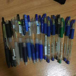 Pilot Pens Covers set