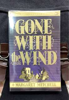 # Novel《New Book Condition + The Classic Collection Fiction Of Love & War》Margaret Mitchell - GONE WITH THE WIND
