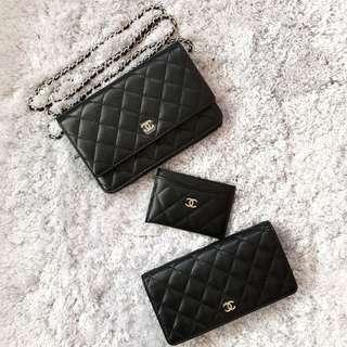 Chanel WOC / L Yen Wallet / Cardholder