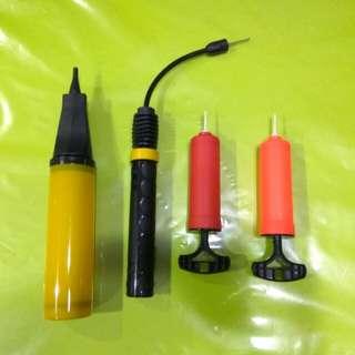 Hand air pumps