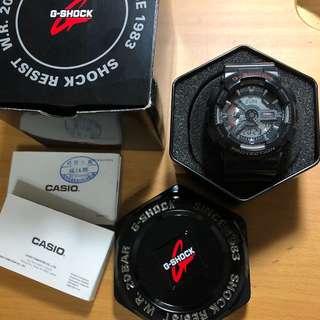 🚚 G-shock電子錶(黑紅)
