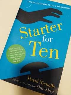 Starter for Ten by David Nicholls