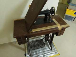 Antique Sewing Machine Singer brand