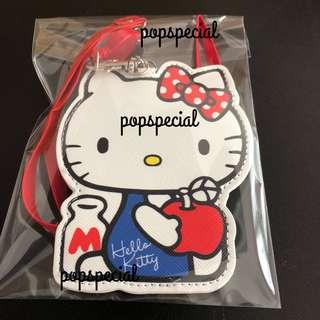 Hello Kitty Retractable Reel Card Holder