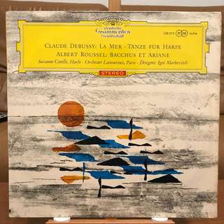 Debussy La Mer & Dances Sacred and Profane & Roussel DG 138073