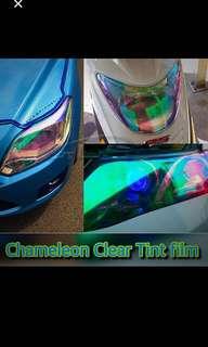 Chameleon tint film