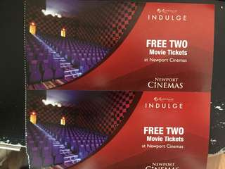 RW Cinema Ticket for 4