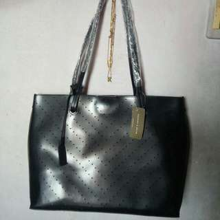 CK Tote Bag with pouch inside (Black)