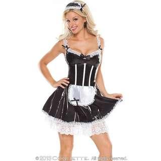 "Masquerade ""Darque French Maid"" Costume"