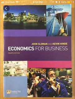Economics for a business