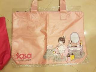New Pink Sasa Weekend Travel Bag
