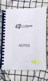 GradReady Notes