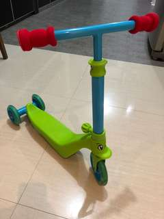 Toddlers scooter