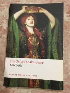 Macbeth (Oxford Shakespeare Edition)