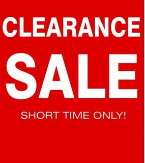 PRE-GSS clearance sale! For InStock ITEM Only! FREE Postsge by Registered Mail! Don't miss the good deal, PM us~