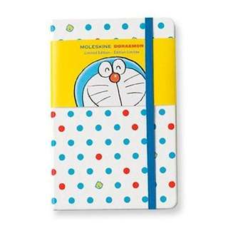 Moleskin doraemon notebook