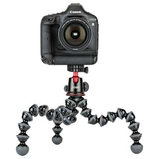 JOBY GorillaPod Focus 5K Kit Professional Tripod Stand and Ballhead for DSLR Cameras or Mirrorless Camera with Lens up to 5KH (11lbs)