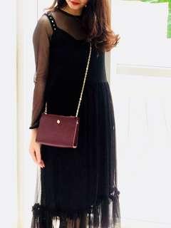 Zara sheer  dress