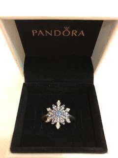 Pandora Ring Snowflake 雪花