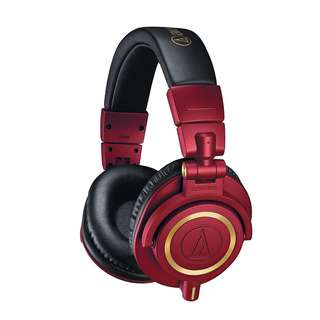 Audio Technica ath-m50x special edition RED