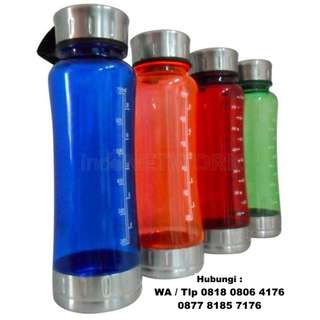 Souvenir tumbler Fun Bottle (plastik) Kapasitas 600 ml