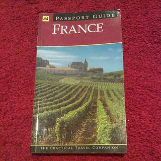 Travel To France Guide Book
