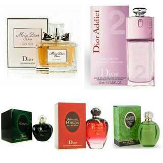 Dior Tester Perfume